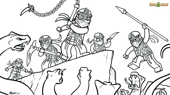 580x326 Kai Ninjago Colouring Pages Coloring Free Printable Pictures