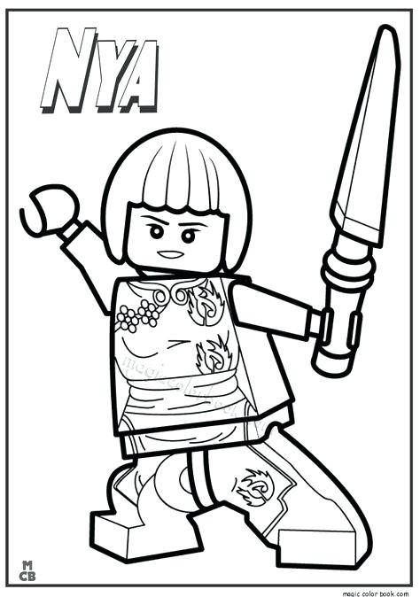 474x674 Lego Ninjago Coloring Page Complete Coloring Pages Print Free