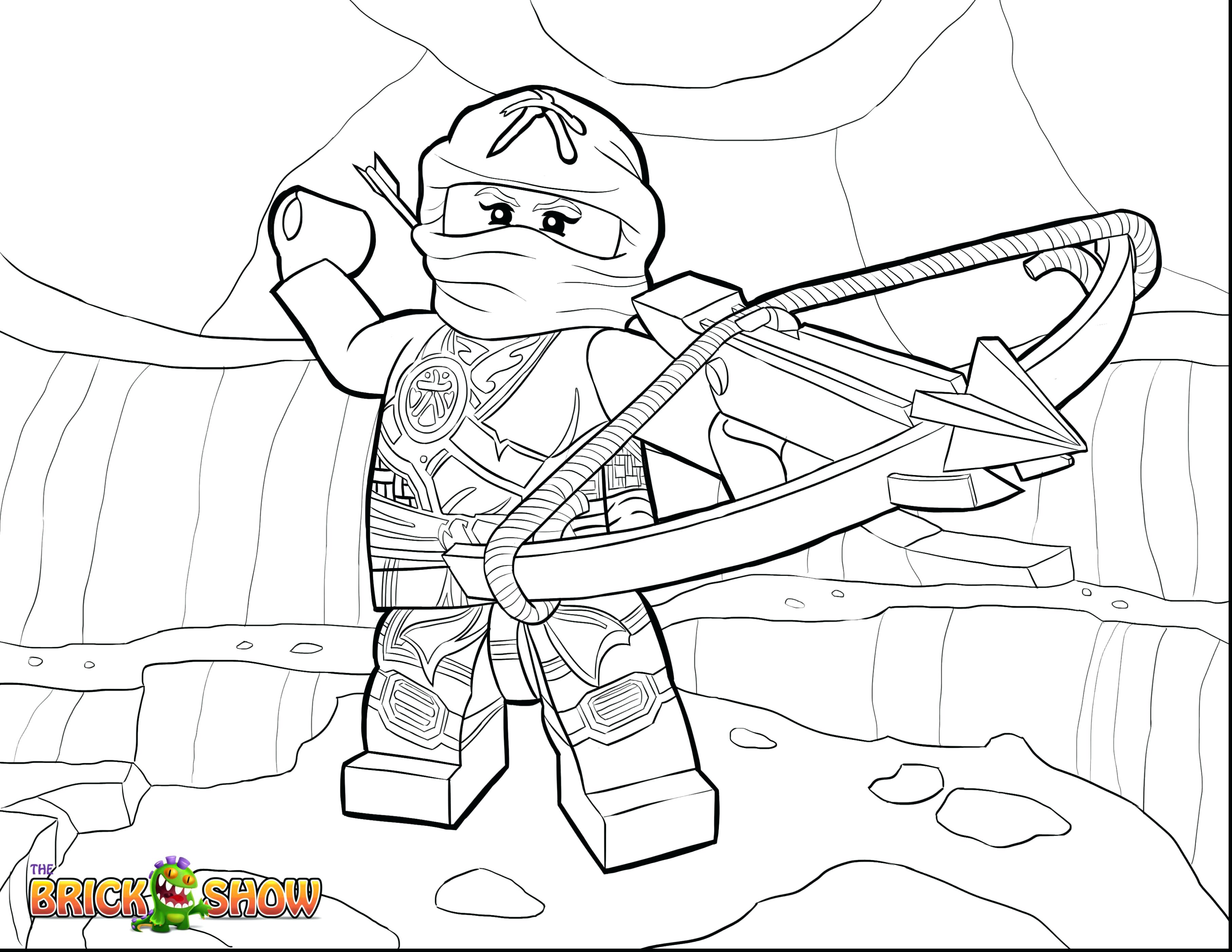 3630x2805 Best Of Lego Ninjago Coloring Pages Kai Zx