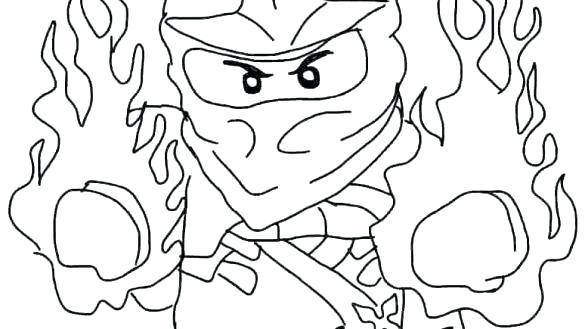 585x329 Ninjago Coloring Pages Kai Ninjago Coloring Pages Kai Zx