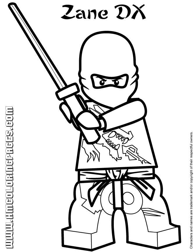 670x867 Lego Ninjago Jay Zx Coloring Pages Kai Ninjago Coloring Pages
