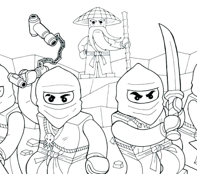 678x600 Coloring Pages For Kids Free Printable Coloring Pages Lego Ninjago