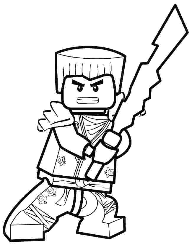 650x827 Ninjago Colouring Pages Cole