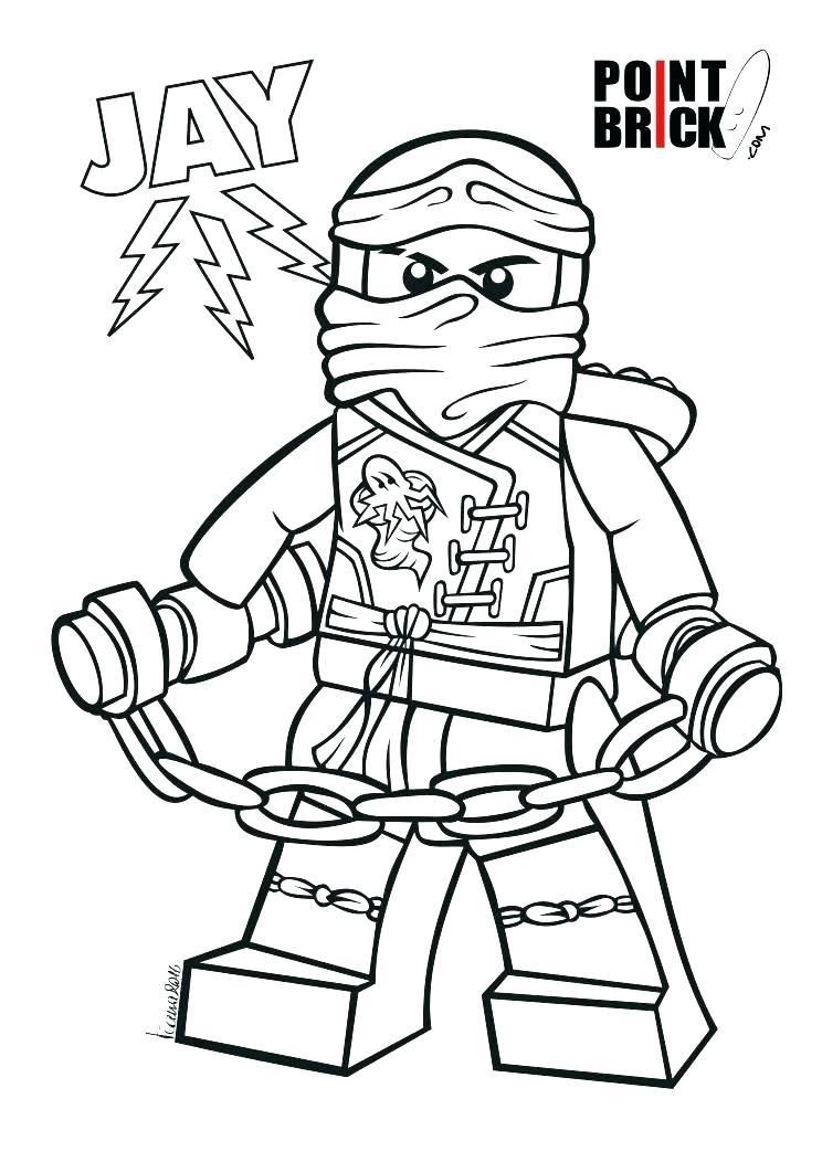 Lego Ninjago Coloring Pages Lloyd At Getdrawings Com Free For