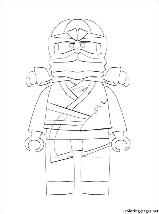 560x750 Lego Ninjago Zane Coloring Page Coloring Pages