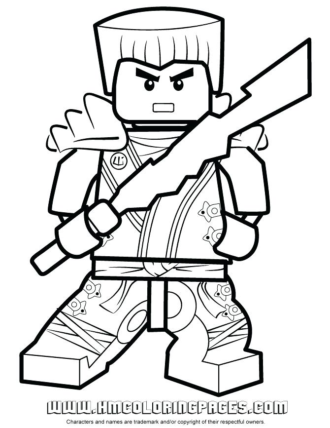 670x867 Ninjago Coloring Pages Zane Zx Page Fuhrer Von
