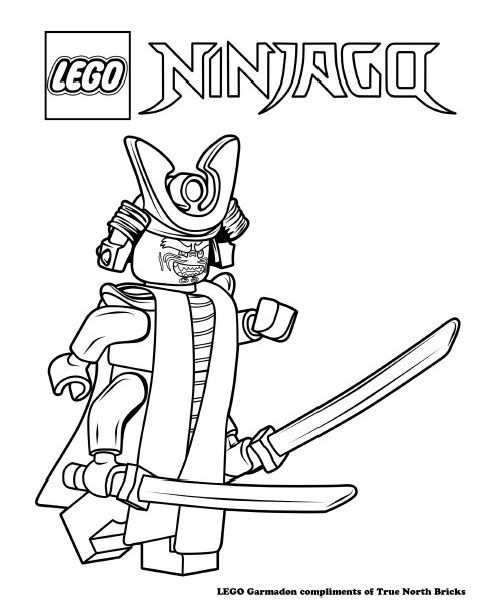 490x605 Lego Colouring Page Garmadon Lego Ninjago Movie, Lego And Pdf