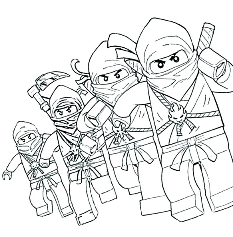 792x805 Ninjago Coloring Pages Free Printable Coloring Pages Free