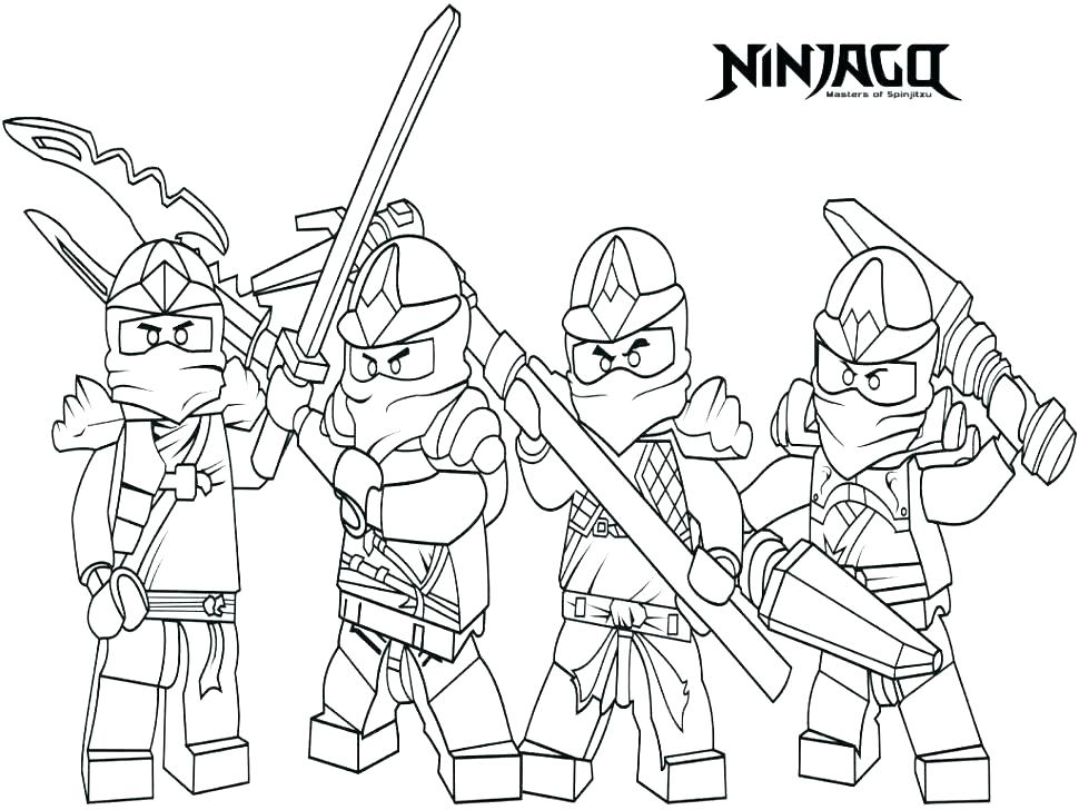 970x728 Free Ninjago Coloring Pages Together With Coloring Pages To Print