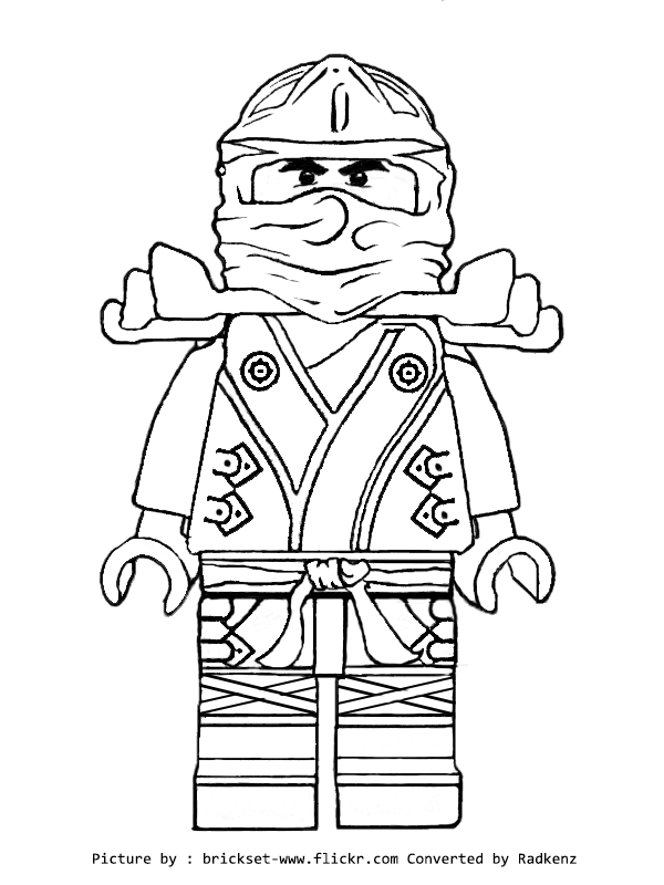 600x800 Lego Ninjago Coloring Pages