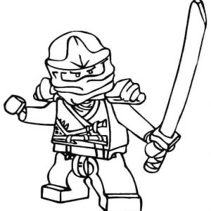 300x300 Lego Ninjago Coloring Pages To Print Archives