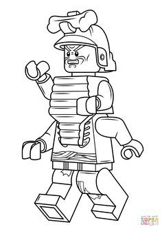 236x333 Lego Ninjago Lord Garmadon Coloring Pages