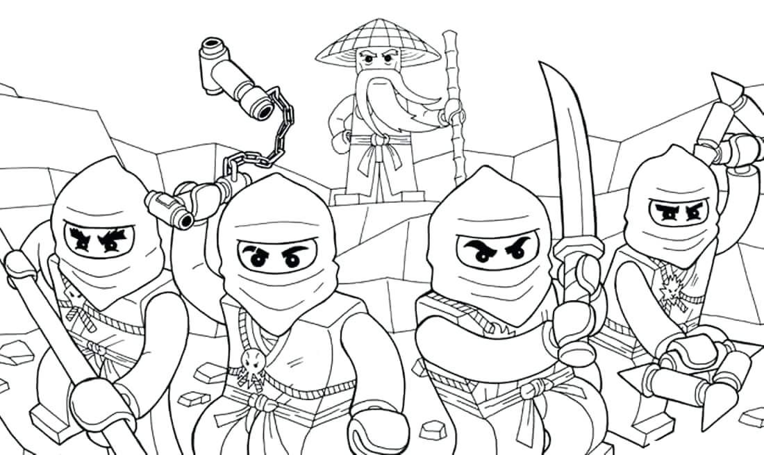 1100x655 Rebooted Coloring Pages Rebooted Coloring Pages Lego Ninjago