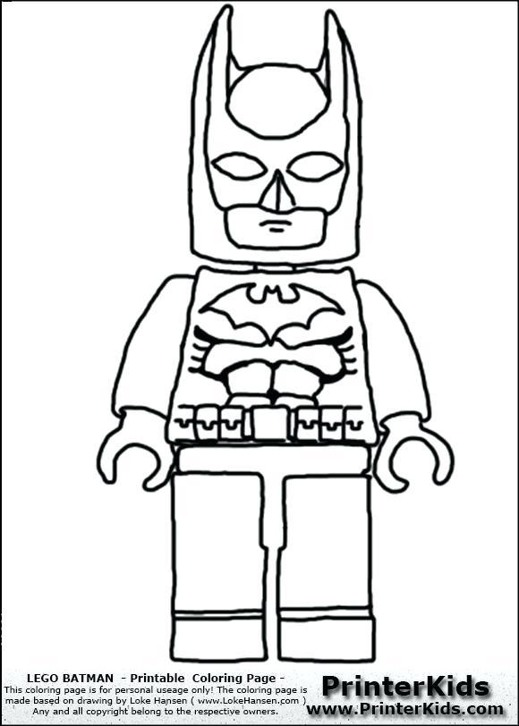 580x812 Lego Guy Coloring Page Batman Front View Coloring Page Lego Batman