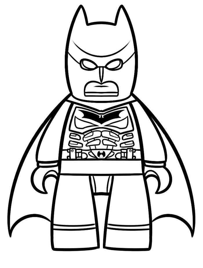 700x922 Lego Guy Coloring Pages