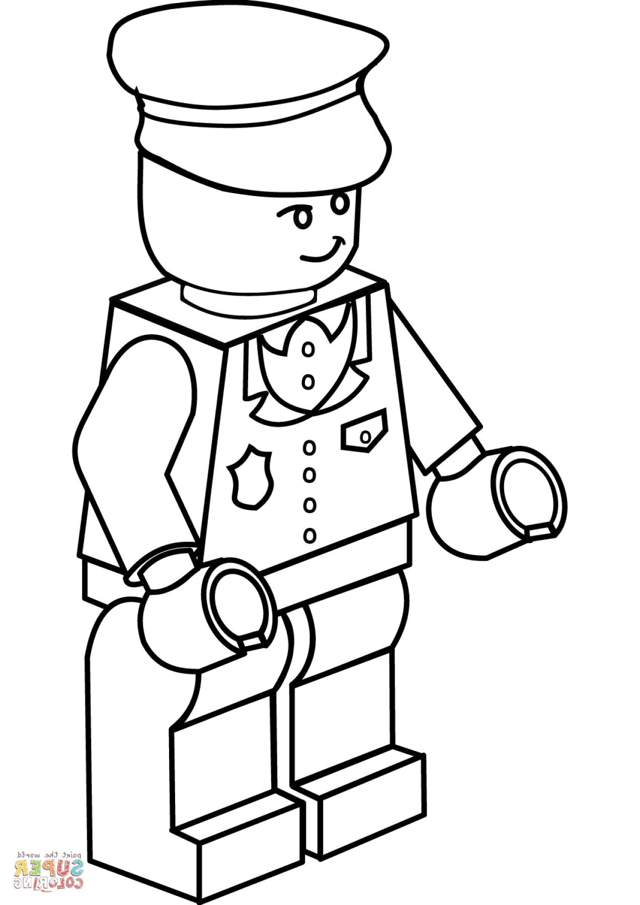 1272x1800 Lego Guy Coloring Pages Ardiafm