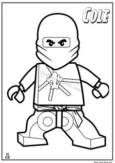 236x335 Free Lego Printable Mini Figure Coloring Pages
