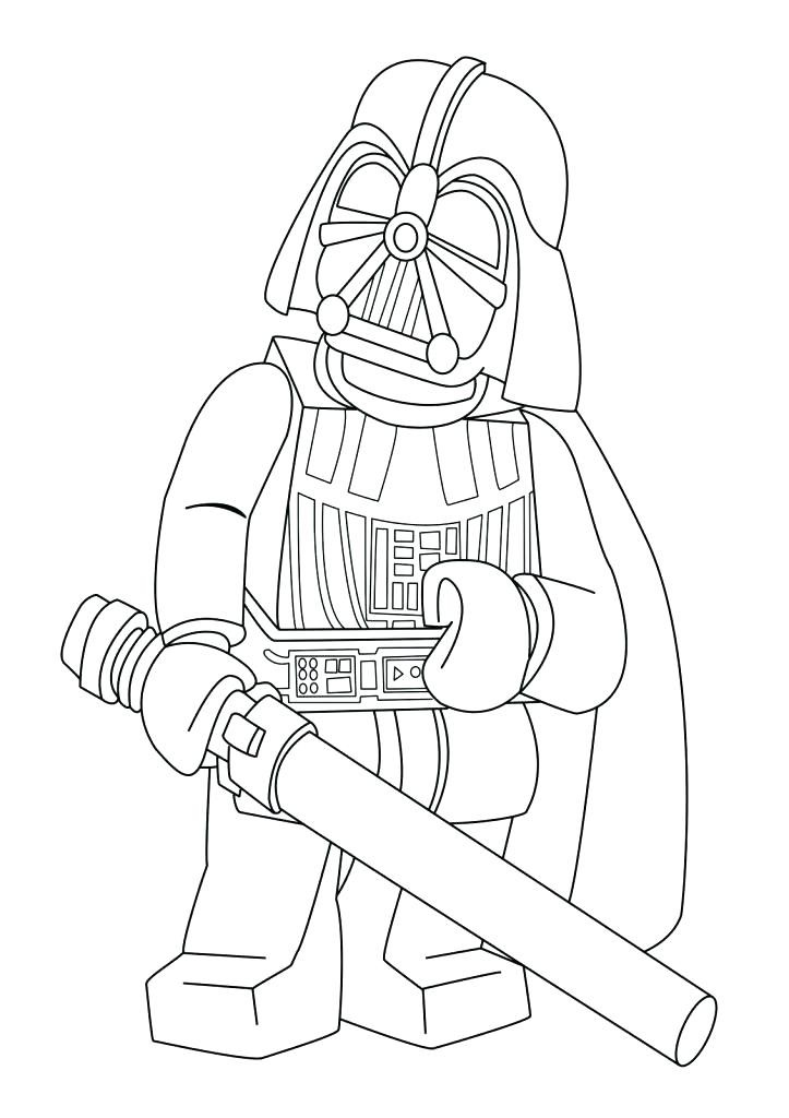 Lego Person Coloring Pages