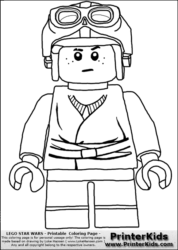 580x812 Lego Star Wars Coloring Pages