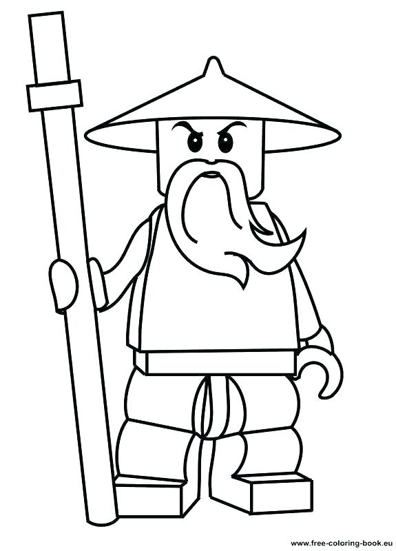 575x800 Lego Characters Coloring Pages