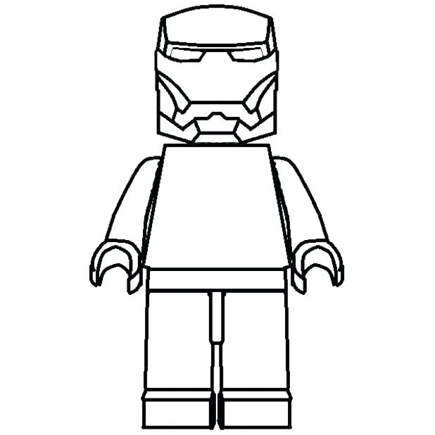 618x618 Lego Characters Coloring Pages Minifigure Coloring Trend