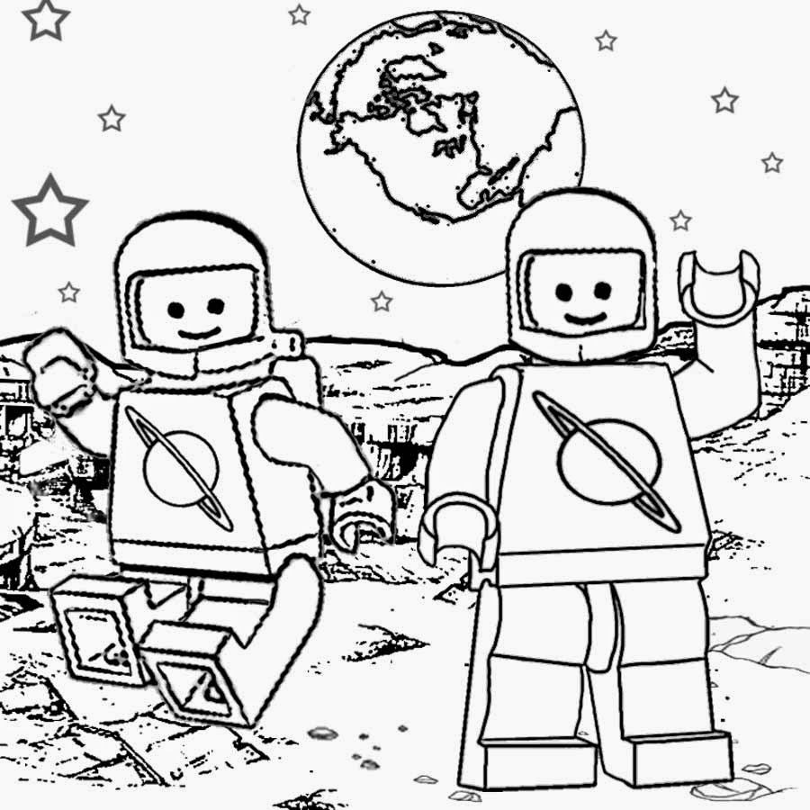 900x900 Lego Coloring Pages Free