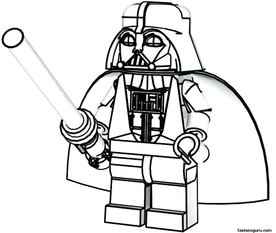 940x796 Lego Guy Coloring Page Coloring Pages Star Wars Coloring Lego