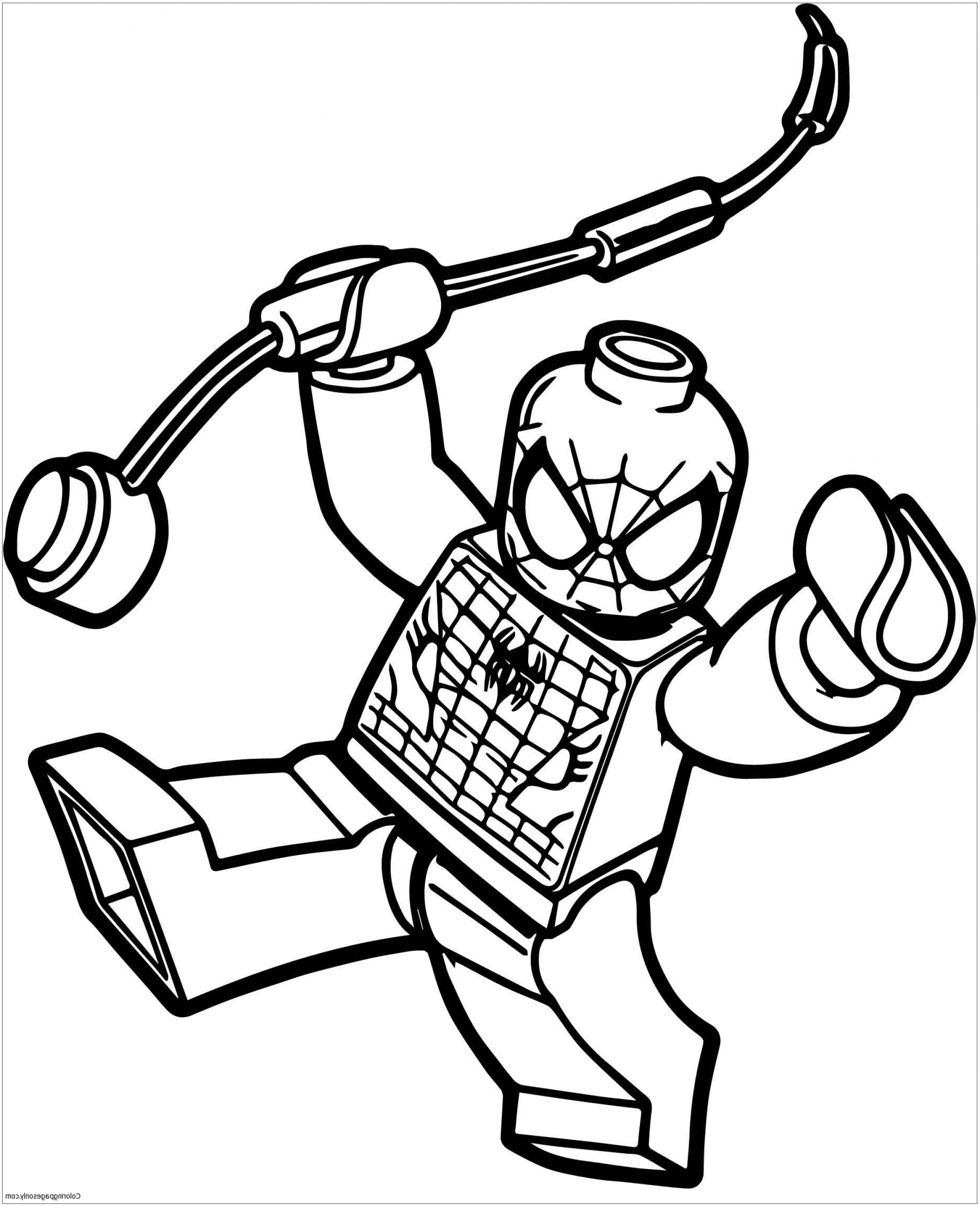 2230x2744 Box Spiderman Lego Spider Man Coloring Page Free Coloring Pages