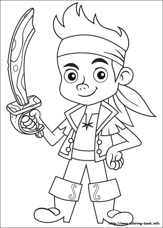 567x794 Pirate Coloring The Pirate Colouring Pages And The Never Land