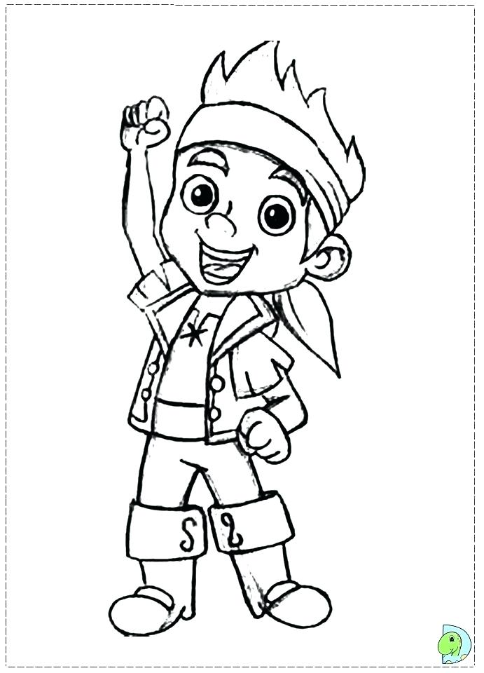 691x960 Beautiful Pirate Coloring Pages Or And The Never Land Pirates