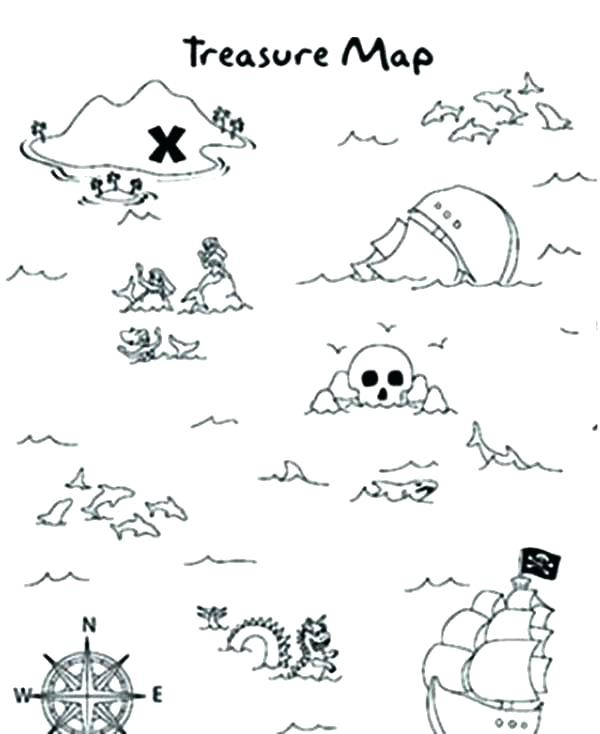 600x734 Coloring Pages Pirates The Pirate Coloring Pages Free Printable