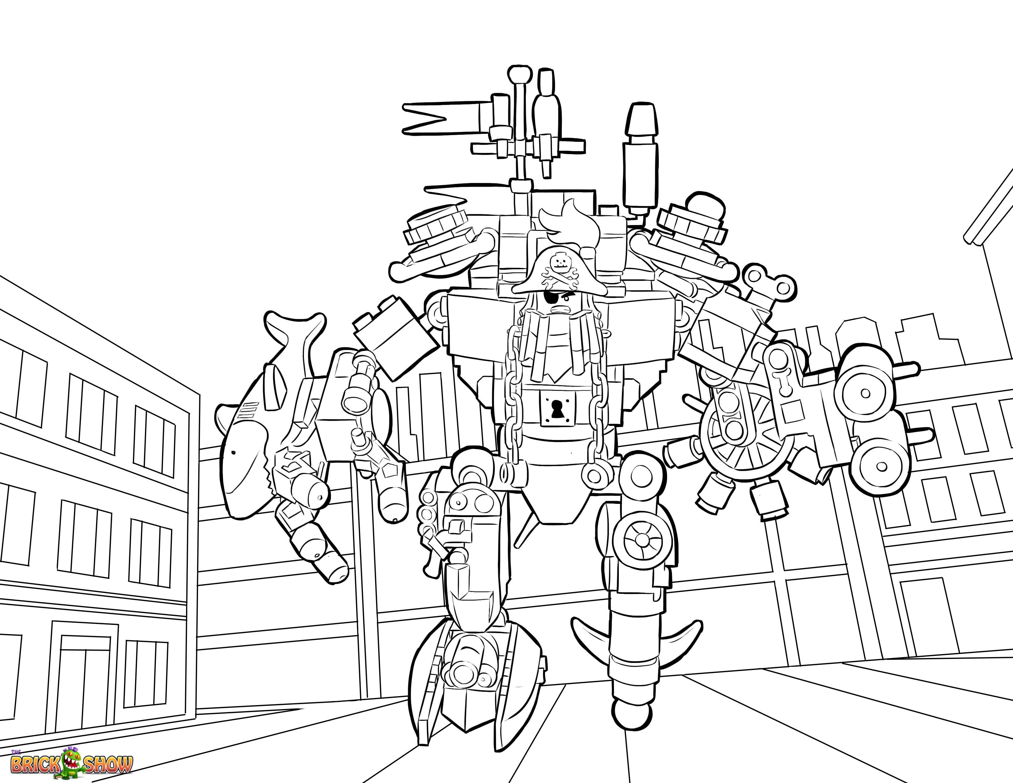 3300x2550 Lego Pirates Coloring Pages Download And Print For Free