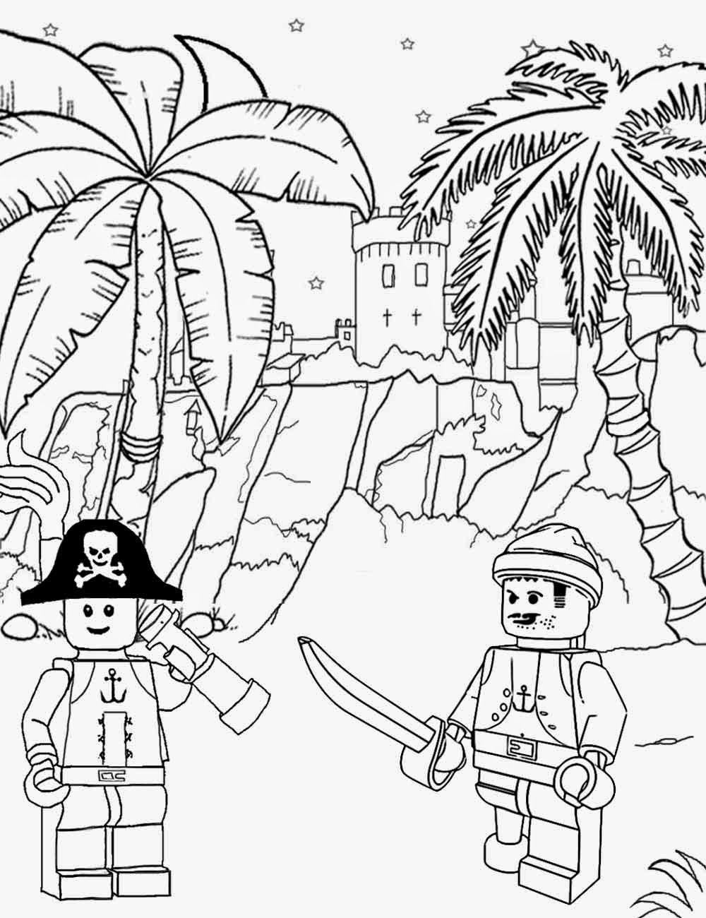 1000x1300 Lots Of Kinds Of Coloring Pages, Lego, Etc Long John Silver Sea