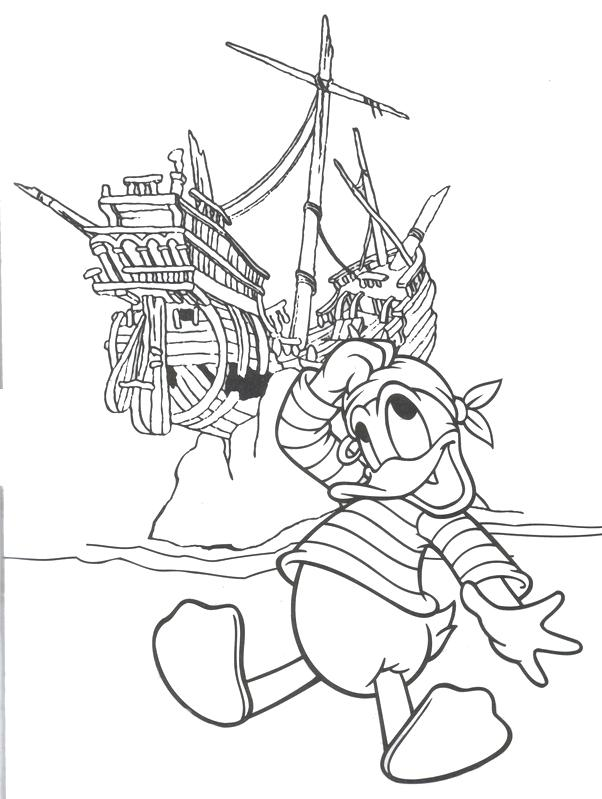 602x799 Pirate Color Page Have A Pirate Ship Full Of Fun With This Free