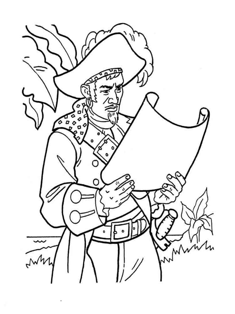 750x1000 Pirates Coloring Pages Download And Print Pirates Coloring Pages