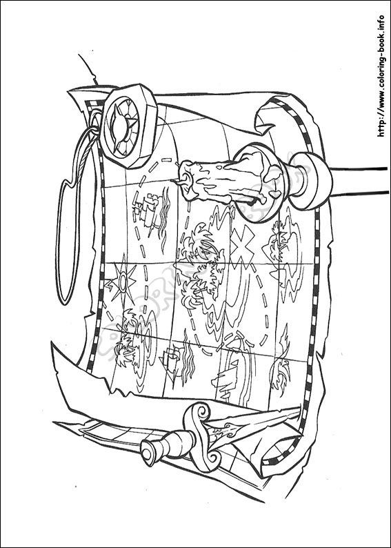 567x794 Pirates Of The Caribbean Coloring Picture Downloads And Sketches