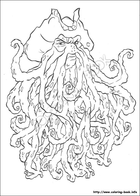 567x794 Pirates Of The Caribbean Coloring Pages Pirates Of The Caribbean