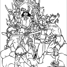 268x268 Coloring Pages Lego Pirates Of The Caribbean Archives