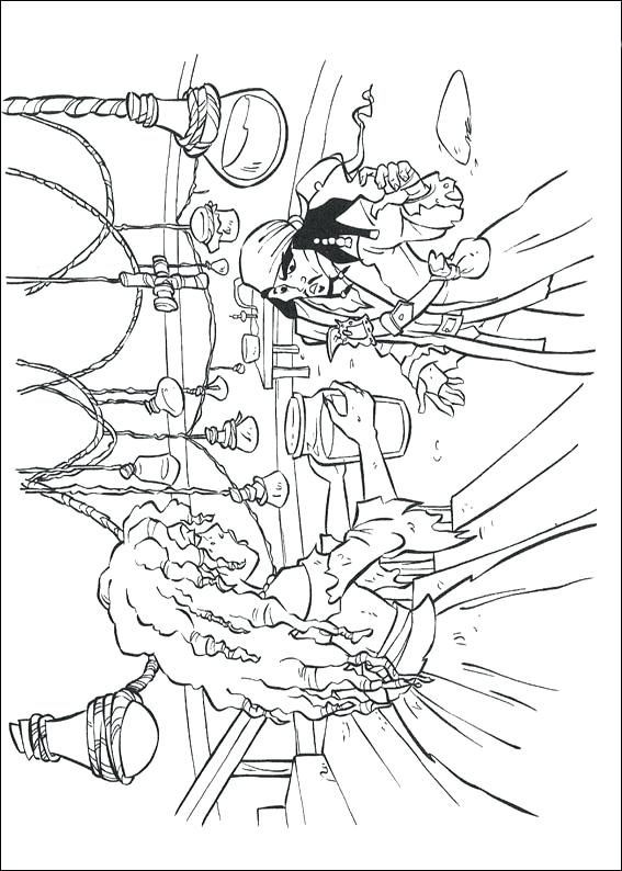 567x794 Coloring Pages Of Pirates Enchanting Pirates Of The Coloring Pages