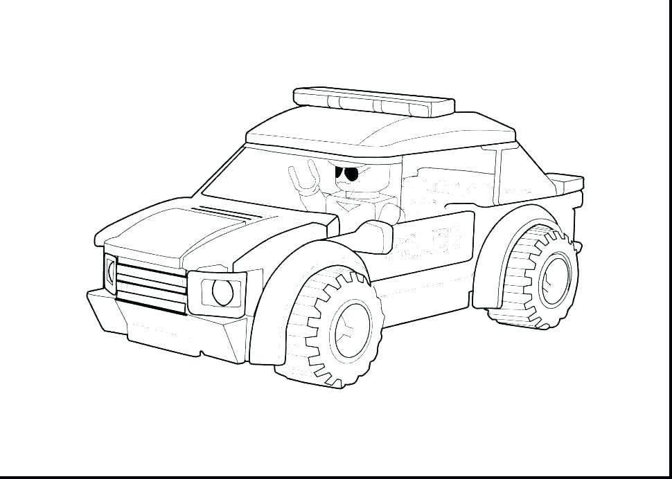lego police car coloring pages at getdrawings free for LEGO Police Three Wheeler 970x692 police car coloring page police car coloring page lego police car