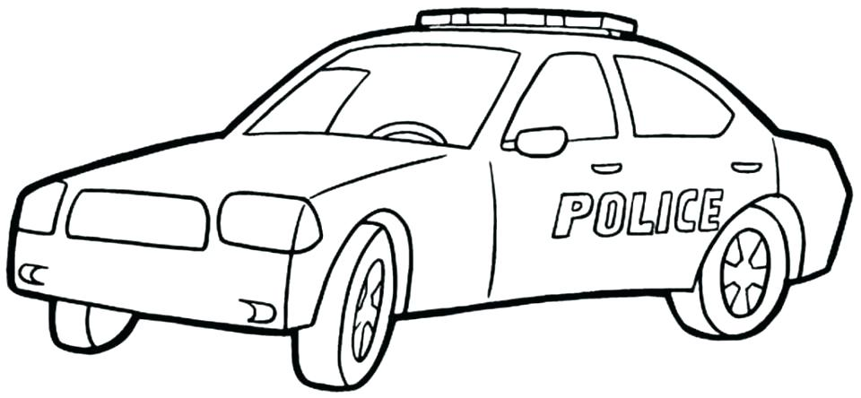 960x444 Police Coloring Pages Police Car Coloring Page Police Car Coloring