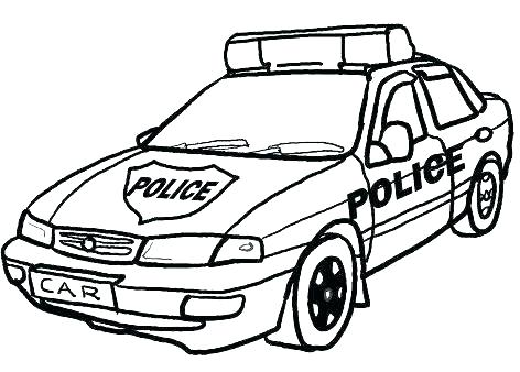 472x338 Coloring Pages Police Police Badge Coloring Page More Police