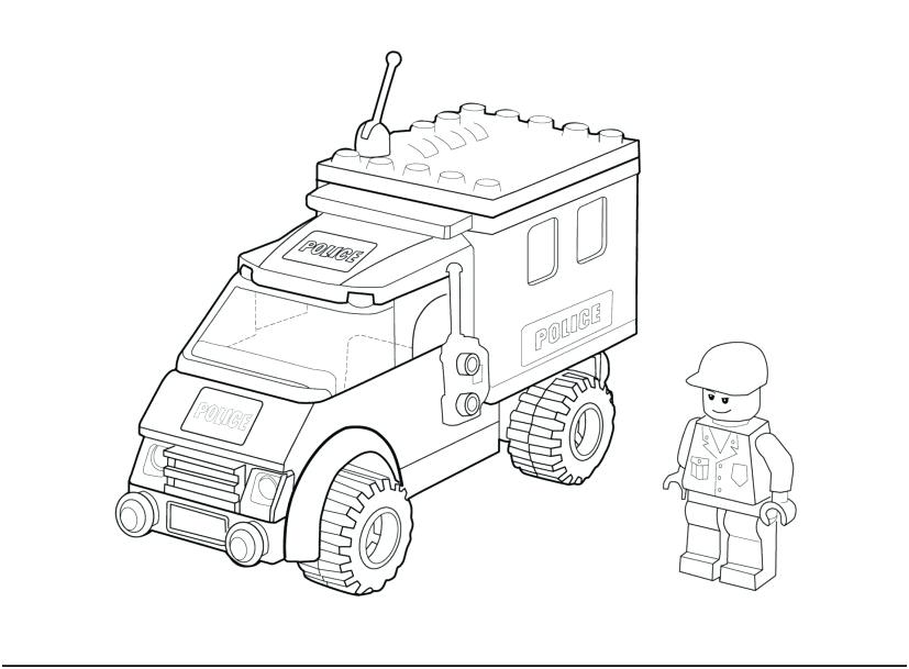 Lego Police Coloring Pages At Getdrawings Free Download