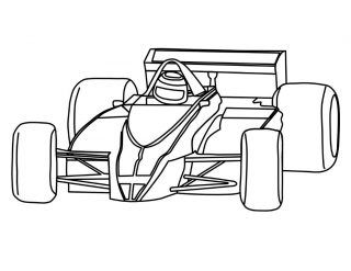 320x247 New Race Cars Coloring Pages Gallery Printable Sheet Car Track