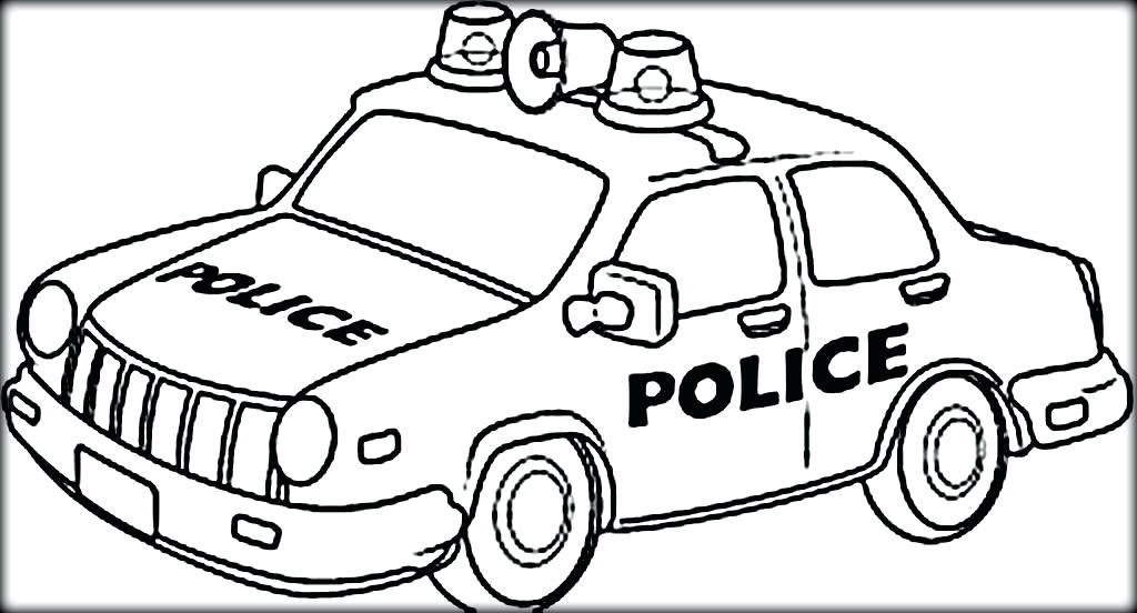 1024x552 Police Car Coloring Pages To Print Car Printable Coloring Pages