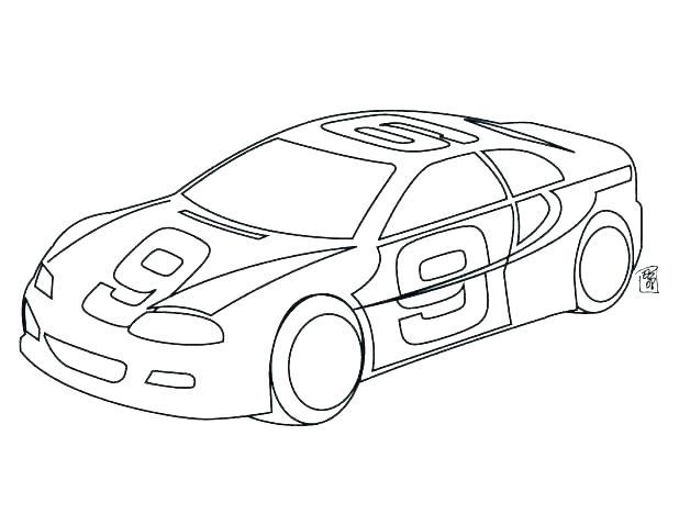 618x478 Race Car Coloring Pages Printable Race Car Coloring Pages