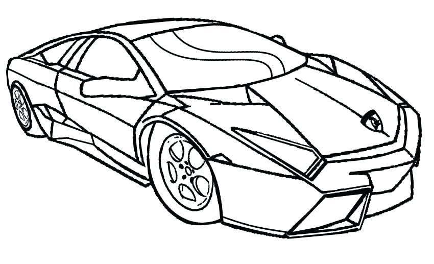 850x517 Police Car Coloring Page
