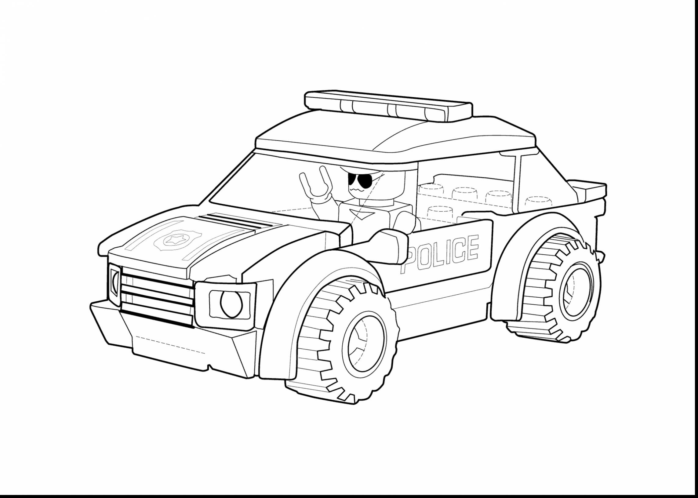 2286x1631 Lego Ninjago Vehicles Coloring Pages New Amazing Lego Police Car