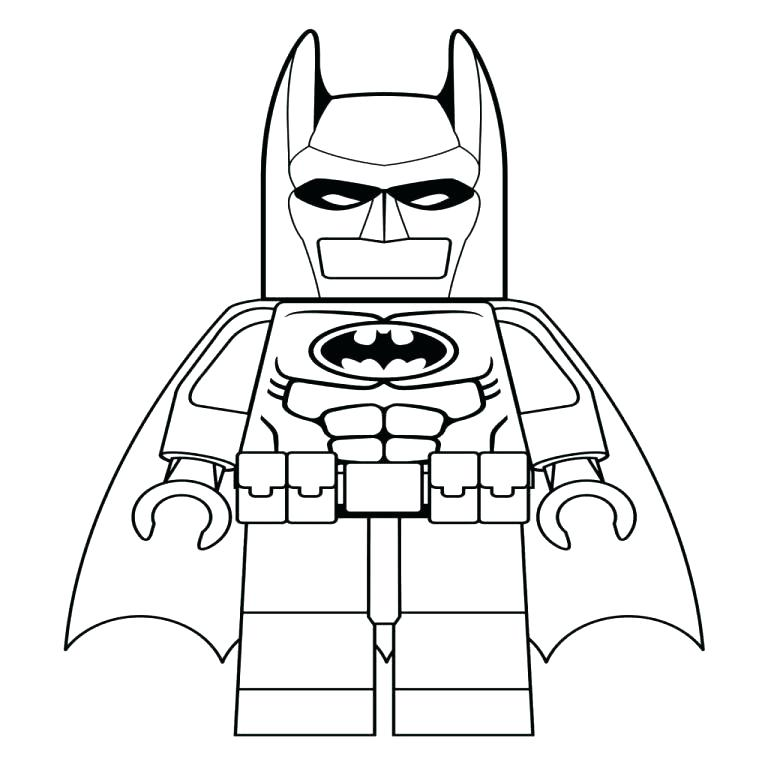 Lego Robin Coloring Pages At Getdrawings Com Free For