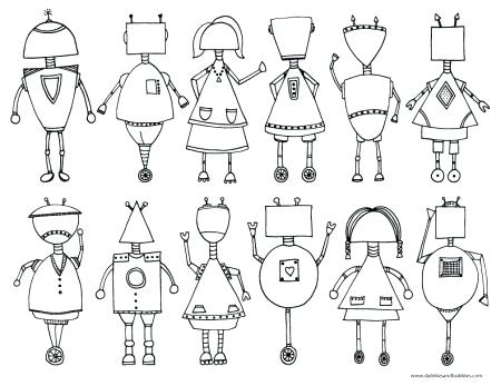 450x347 Robot Coloring Page Printable Robot Coloring Page Lego Robot